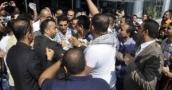إعتداء جسدي على محمد عساف في غزة