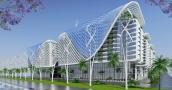 تصميم عصري لمجمع سكني ملياري صديق للبيئة متكامل في مصر!