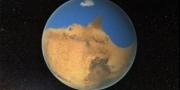 بالفيديو .. محيط على سطح المريخ أكبر مساحة من المحيط المتجمد ...