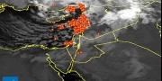 """الأقمار الصناعية ترصد غيوم """"رامين"""" شرق البحر المتوسط في طريق ..."""
