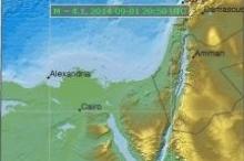 هزة أرضية تضرب لبنان وفلسطين تشعر بها