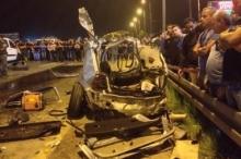 بالصور.. مصرع شابين في حادث سير دامِ ومخيف