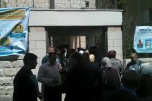 """بالصور ..تنافس """"محموم"""" في انتخابات نقابة المهندسين في فلسطين"""