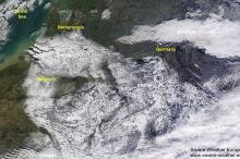 أقمار وكالة ناسا ترصد الثلوج التي تغطي أجزاء واسعة من ...