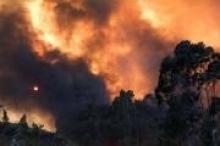 بالصور.. منخفض طبرس يتسبب بحرائق كبيرة في فلسطين