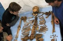 تحديد سبب موت الفرعون سنب كاي