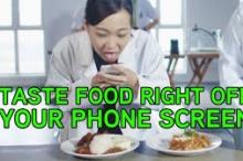 ابتكار ماليزي ... بالفيديو: شاشة تجعلك تتذوق الأطعمة من هاتفك ...