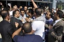إعتداء على محمد عساف في غزة
