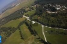 بالفيديو : شاهد قرية صبّارين من السماء ..مشاهد ساحرة