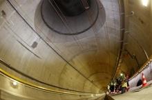 سويسرا تنتهي من بناء أطول نفق في العالم