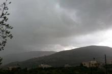 الشتاء يأبى الرحيل ومُصرٌ على البقاء في فلسطين حتى إشعار ...