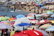 موجة حر شديدة جداً تضرب أوروبا بقوة ودرجات حرارة اربعينية