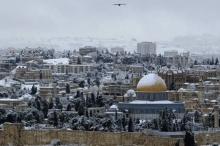 متى ستتساقط الثلوج على فلسطين؟