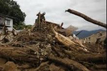 ارتفاع حصيلة انزلاقات التربة في هيروشيما الى 70 قتيلا
