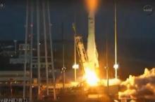 انفجار صاروخ فضائي أمريكي قبالة سواحل فرجينيا (فيديو)