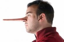 الفرق بين الكاذب و الكذاب