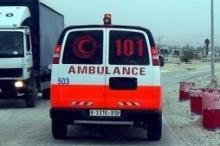 انقاذ شاب من الانتحار في رام الله
