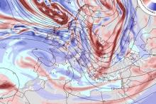 آخر تحديث للخرائط الجوية..أجواء باردة الأسبوع القادم وفرصة لمنخفض جوي ...