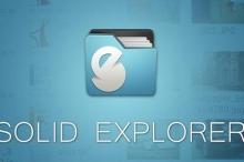 بعد فترة إختبار طويلة Solid Explorer الآن على متجر بلاي