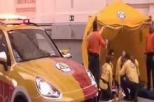 بورش كايين تتحول إلى سيارة اسعاف (فيديو)