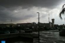 بالصور ..أمطار غزيرة هطلت في وسط فلسطين المحتلة