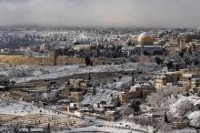 هل صحيح أن الثلوج واردة حقاً نهاية الشهر في فلسطين ...
