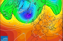 الخرائط الجوية للأسبوع القادم في حالة ارتباك..فما هي فرص هطول ...