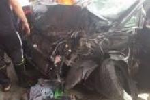 بالصور... مصرع مواطن وإصابة آخرين بحادث سير جنوب الضفة مساء ...