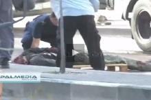 بالفيديــو: الصور الاولى لجثمان احد الشهداء في الخليل فجر اليوم