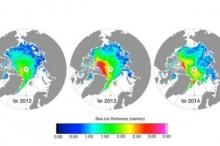 """جليد القطب الشمالي """"زاد الثُلث"""" بعد صيف عام 2013"""