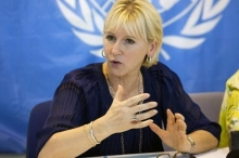 السويد أول بلد أوروبي يعترف رسمياً بدولة فلسطين