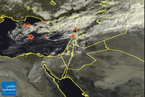 الأقمار الصناعية صباح اليوم الأحد | 19/10/2014