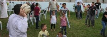 جمعية دار الايمان: تأهيل حديقة خضراء تعج بضحكات الاطفال وزقزقة العصافي ...