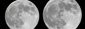 القمر العملاق الأول يقع قريبا من نقطة الحضيض اليوم