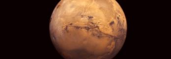 حقيقة اصطدام مذنب ضخم بكوكب المريخ
