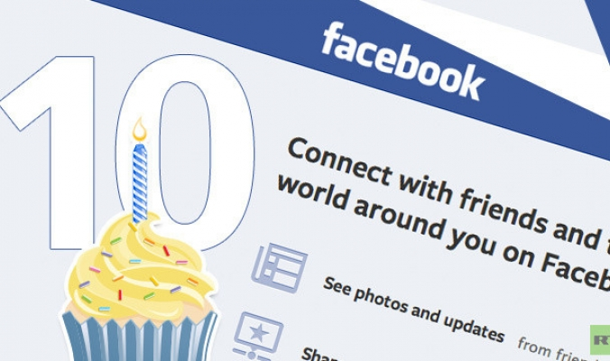 الفيسبوك يحتفل اليوم بعيد ميلاده العاشر وفيه أكثر من مليار مستخدم  06112375021526886032378283814772