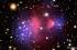 مادة مظلمة غامضة تمر بسلام خلال اصطدام المجرات