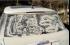 لوحات فنية على سيارات متسخة!