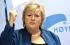 """رئيسة وزراء النرويج تستشهد بحديث نبوي شريف في مهرجان ضد """"داعش"""""""
